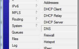 آموزش تنظیم سرور DNS در میکروتیک