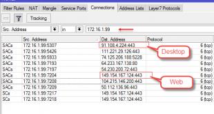 محدود کردن ترافیک Telegram (تلگرام) برای مدیریت پهنای باند در میکروتیک