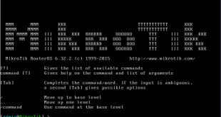 دانلود MikroTik RouterOS 6.32.2 نسخه VMware