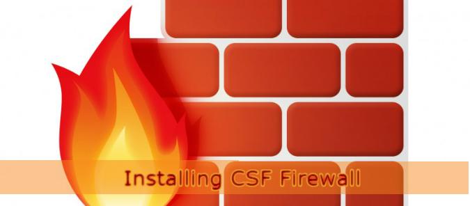 آموزش نصب فایروال CSF در دایرکت ادمین