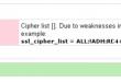 آموزش رفع خطای Check dovecot weak SSL/TLS Ciphers فایروال CSF