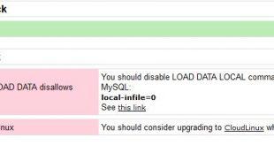 آموزش رفع خطا Check MySQL LOAD DATA disallows LOCAL در فایروال csf