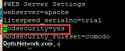 آموزش نصب فایروال ModSecurity در دایرکت ادمین