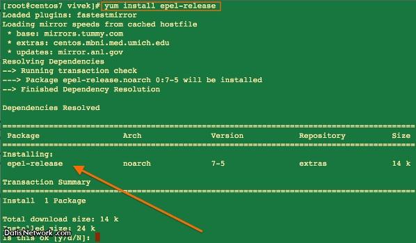آموزش فعال کردن EPEL Repository در RHEL/CentOS 7.x/6.x/5.x