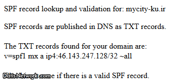 SPF رکورد چیست ؟ SPF DNS Record