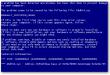 خطای صفحه آبی مرگ در ویندوز