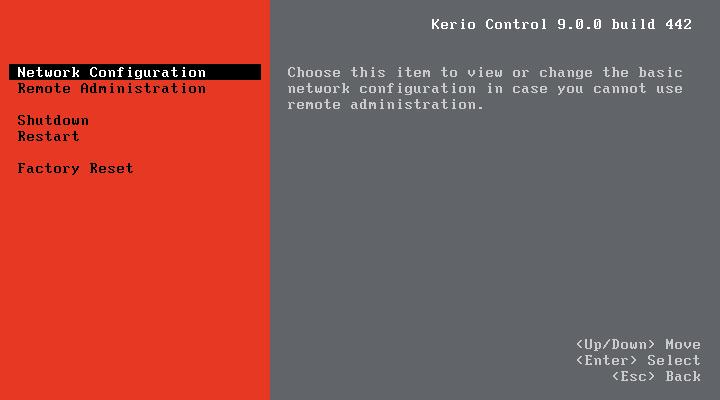 آموزش تصویری نصب Kerio Control
