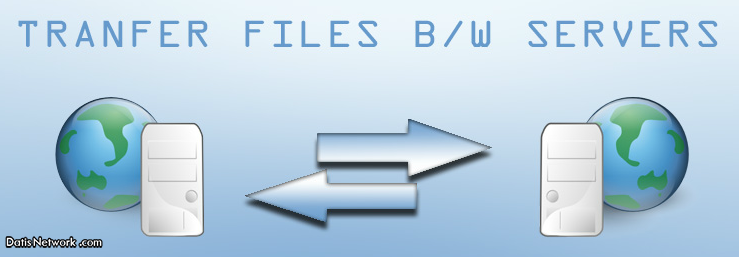 انتقال فایل بین دو سرور لینوکس
