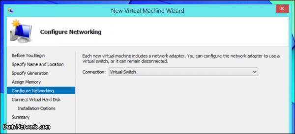 آموزش ساخت ماشین مجازی در Hyper-V