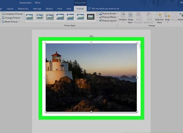 آموزش کامل برش عکس در نرم افزار ورد - نحوه بریدن (Crop) تصویر در Word