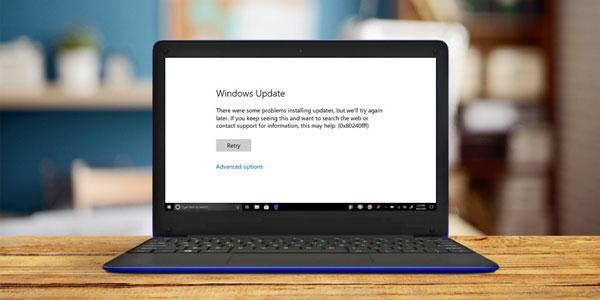 آموزش رفع ارور 0x80240fff در ویندوز 10 و 8 و 7 - حل مشکل آپدیت Windows