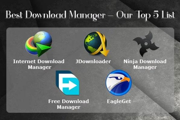 معرفی بهترین برنامه های دانلود منیجر در ویندوز - قوی ترین نرم افزار های مدیریت دانلود کامپیوتر