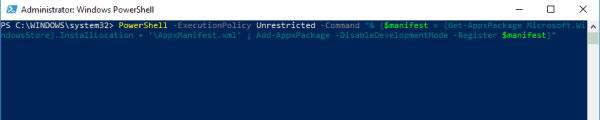 حل مشکل باز نشدن استور در ویندوز 10 - رفع خطای وصل نشدن به فروشگاه مایکروسافت