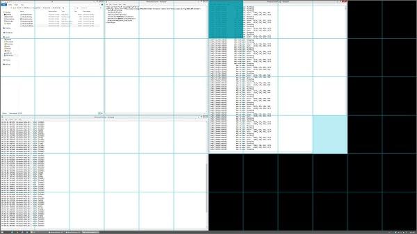 آموزش تقسیم صفحه نمایش در ویندوز 10 و 8 و 7 - دانلود برنامه تقسیم صفحه مانیتور دسکتاپ