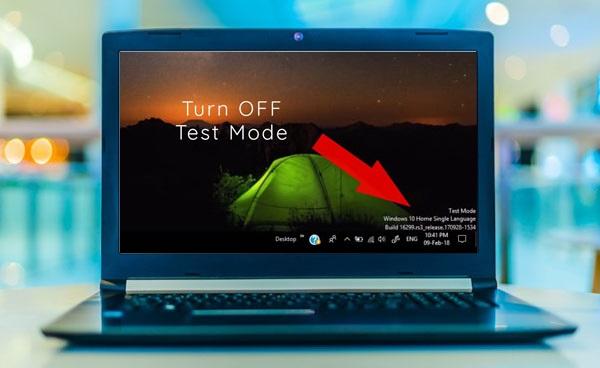 آموزش غیرفعال کردن تست مود در ویندوز 10 و 8 و 7 - حذف حالت Test Mode