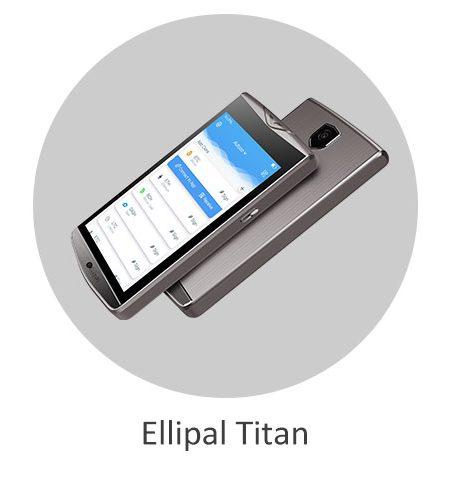 کیف پول سخت افزاری الیپال تایتان Ellipal Titan