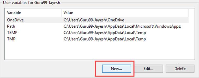 آموزش تصویری نصب جاوا در ویندوز - حل مشکل عدم شناسایی Java