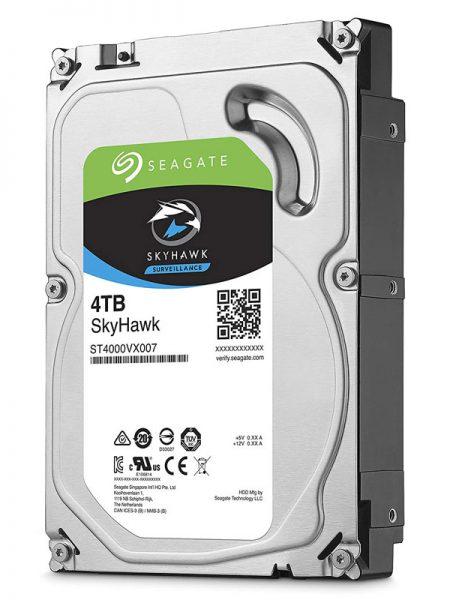 هارد دیسک اینترنال سیگیت Seagate SkyHawk 4TB با ظرفیت 4 ترابایت