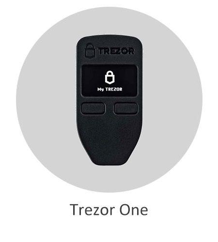 کیف پول سخت افزاری ترزور وان - Trezor One