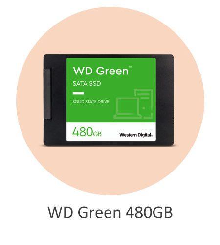 حافظه SSD اس اس دی 480 گیگ وسترن دیجیتال WD Green 480GB