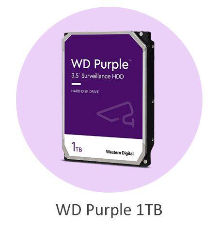 هارد دیسک وسترن دیجیتال بنفش WD Purple 1TB با ظرفیت 1 ترابایت