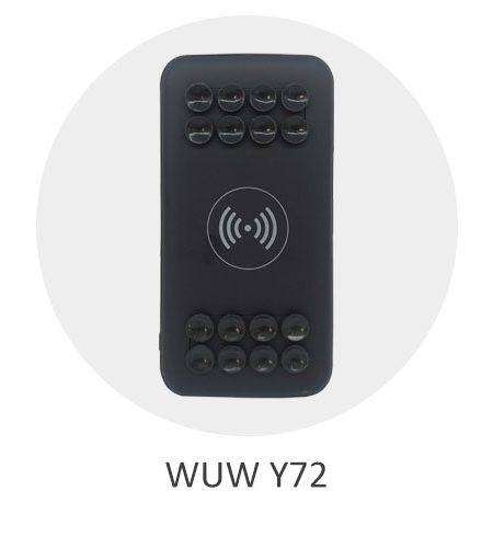 پاوربانک وایرلس مدل WUW Y72 با ظرفیت 10000 میلی آمپر ساعت