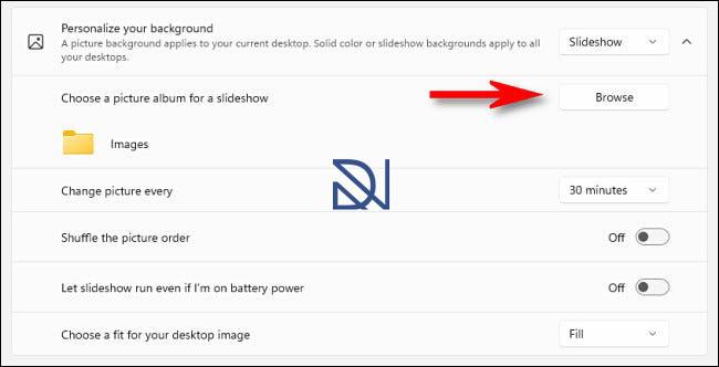 Change the Desktop Background on Windows 11
