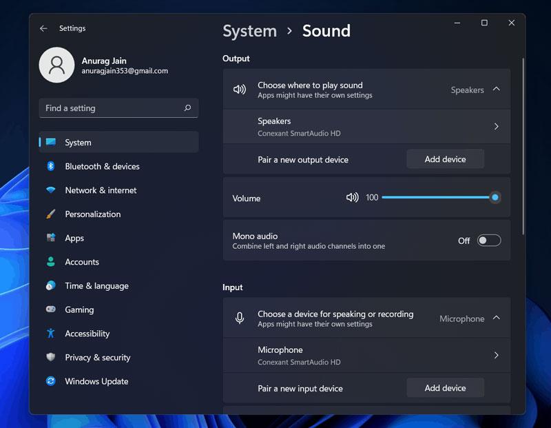 Windows 11 Sound Not Working